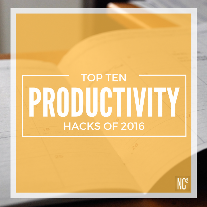 OUR TOP PRODUCTIVITY HACKS OF-2